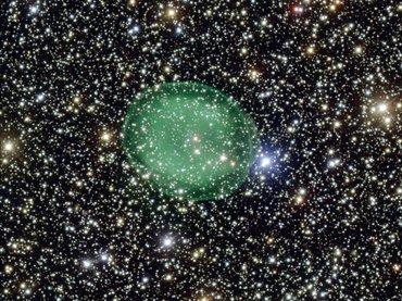 nebulosa verde