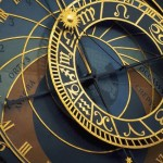Closeup of Prague Astronomical Clock