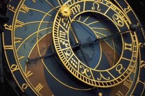 Closeup of Prague Astronomical Clock